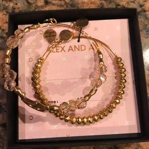 NWT Alex and Ani Bracelets